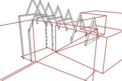 Staalconstructie entree