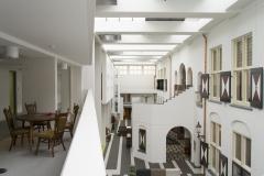 Atrium en balkon