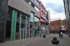 Winkels en appartementen