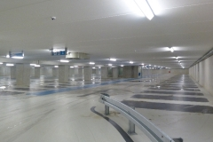 Interieur parkeergarage