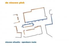 Nieuwe situatie - openbare route