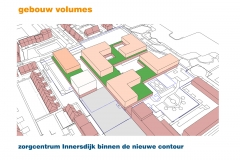 Zorgcentrum binnen de nieuwe contour